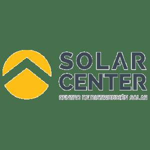 Logo Solar Center, empresa distribuidora de productos NEP en México